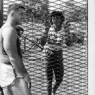 Olga Fikotova and Hal Connolly at the 1960 Olympics - 8x10 photo