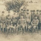 The Turkish rebel leader and his staff. - 8x10 photo