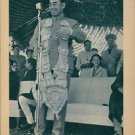 Zhou Enlai standing and giving speech on microphone. - 8x10 photo