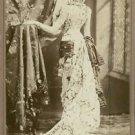 Sarah Bernhardt in a flowy gown. - 8x10 photo