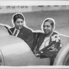 Josephine Baker and Violette Morris in car.  - 8x10 photo