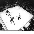Floyd Patterson in boxing ring. - 8x10 photo