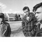 Truman Capote with men. - 8x10 photo