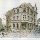 U.S. Troops clear battered Dorsten. - 8x10 photo