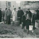 World War II. Hope of a free meal - 8x10 photo