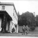 Agatha Christie walking with her husband Max Mallowan. - 8x10 photo