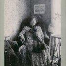 Anna Branting sitting on chair.  - 8x10 photo