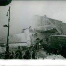 A crashed plane. - 8x10 photo