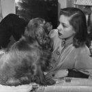 Lauren Bacall relaxing. - 8x10 photo