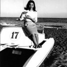 Faten Hamama sitting. - 8x10 photo