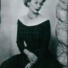 Portrait of Margaret Leighton. - 8x10 photo