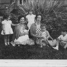 Queen Fabiola with children. - 8x10 photo