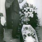 Jesús Fernández Santos in the burial of Carmen Amaya, 1963. - 8x10 photo