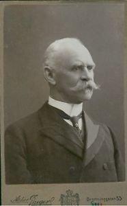 Portrait of Victor Balck.  - 8x10 photo