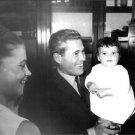 Jacques Monod with children. - 8x10 photo