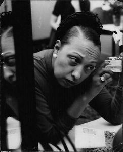 Close up Josephine Baker.   - 8x10 photo