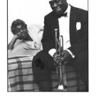 Louis and Lucille Armstrong - 8x10 photo