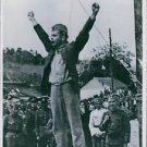 Stevan Filipovic, a partisan Commander before hanging cheered Tito and Yugoslav.