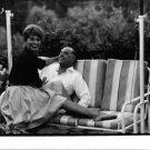 Sophia Loren sitting with Carlo Ponti. - 8x10 photo