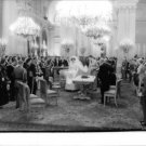 Fabiola and Baudouin at an event. - 8x10 photo