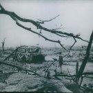 Hiroshima tragedy - Leveled by unleashed bombs  - 8x10 photo