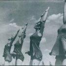 Scene of the movie Olympia 1938. - 8x10 photo