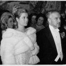 Grace Kelly standing with her husband Rainier III.  - 8x10 photo