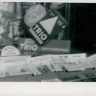 World War II. German Newspaper and coffee commercial - 8x10 photo