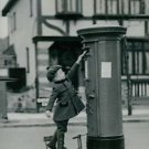 World War II. A letter to Santa Claus - 8x10 photo