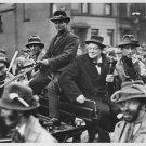 Sir Winston Leonard Spencer-Churchill with friends. - 8x10 photo