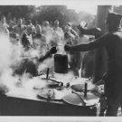 World War II. Frence troops having dinner - 8x10 photo