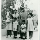 Nasser Hussein and family - 8x10 photo