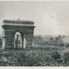 Parisians celebrate their liberation - 8x10 photo