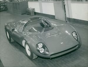 Model of a high brand car - Milano, Ferrari. - 8x10 photo