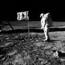 The first man on the moon. - 8x10 photo