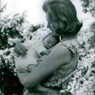 Princess Margaretha carrying her baby. 1965 - 8x10 photo