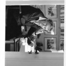 Astrid Lindgren at her desk - 8x10 photo