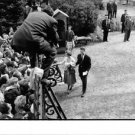 Baudouin and Dona Fabiola greeting fans.  - 8x10 photo