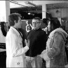 Milos Forman, Woody Harrelson and Courtney Love. - 8x10 photo