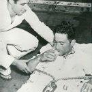 World War II. Wounded Italian soldier - 8x10 photo