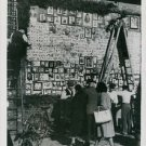 """World War II. Unique """"Wall Of Remembrance"""" - 8x10 photo"""