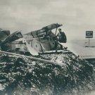 World War I. British warplane crashes - 8x10 photo