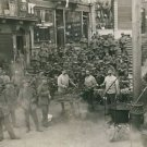 World War I. German soldiers having lunch - 8x10 photo