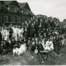 World War I. Sailors from the ship Albatross. - 8x10 photo