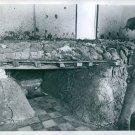 Vietnamese man looking into Viet Gong bunker - 8x10 photo