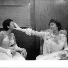 Sophia Loren dressed in white dress.  - 8x10 photo