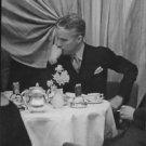 Charlie Chaplin contemplating.  - 8x10 photo