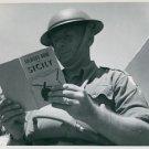 World War II. Invasion of Sicily - 8x10 photo