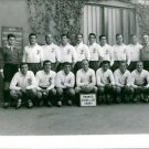 Group picture of the rugby team France and South Africa.Taken - Circa 1961 - 8