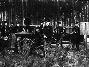police barricade - 8x10 photo
